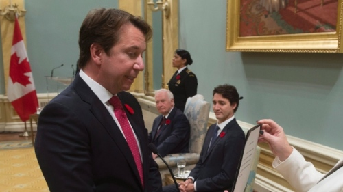 Treasury Board President Scott Brison is supposed to spearhead reforms to the Access to Information Act..... by waiting two more years.